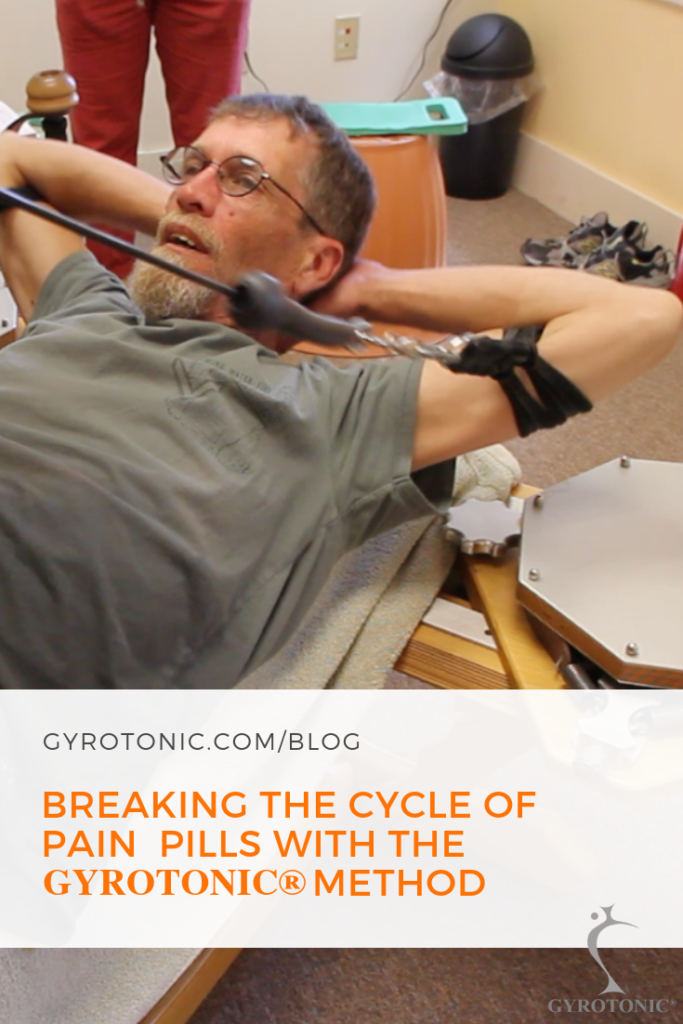The GYROTONIC® Method helped Bill break a 20-year cycle of disability and medication, restart his career as a trainer, and regain a life of movement and function.