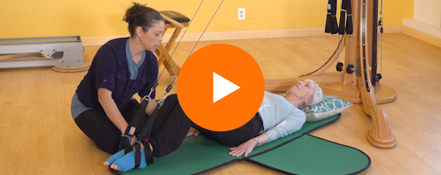Promo video for Strategies for Working with Osteoporosis Clients, a video class in the GYROTONIC® Master Class Series